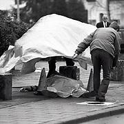 NLD/Baarn/19941119 - Schietpartij Eemnesserweg Baarn, een dode, een gewonde