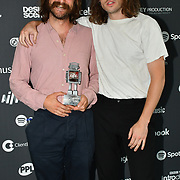 IDLES receive awards at AIM Independent Music Awards at the Roundhouse on 3 September 2019, Camden Town, London, UK.