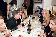 CALVIN KLEIN; BLAINE TRUMP, Aby Rosen & Samantha Boardman Dinner at Solea,Collins ave,  Miami Beach. 2 December 2010. -DO NOT ARCHIVE-© Copyright Photograph by Dafydd Jones. 248 Clapham Rd. London SW9 0PZ. Tel 0207 820 0771. www.dafjones.com.