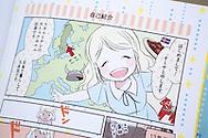 Mangatecknaren Åsa Ekström gör succé i Japan med sin svenska karaktär.