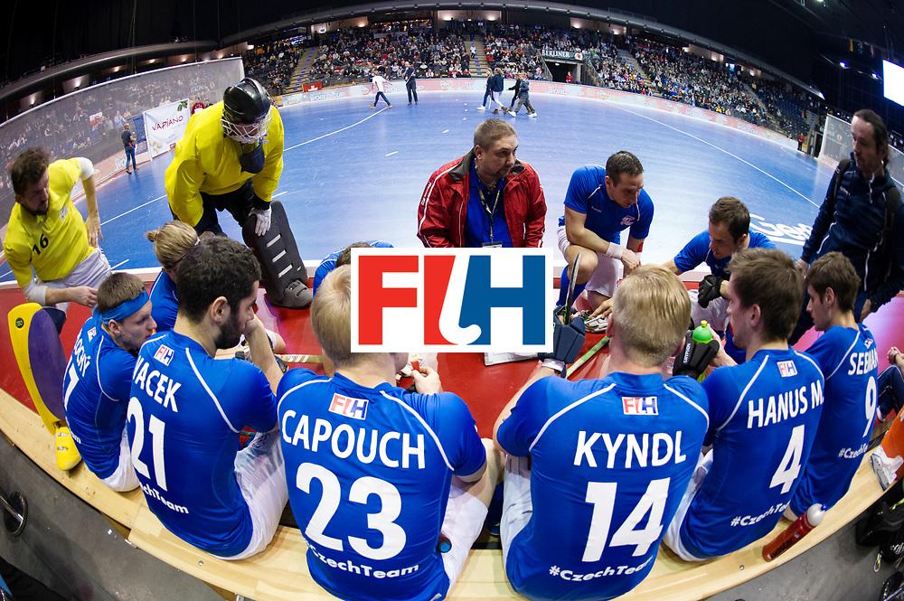 BERLIN - Indoor Hockey World Cup<br /> Quarterfinal 1: Iran - Czech Republic<br /> foto: TRONIČEK Petr.<br /> WORLDSPORTPICS COPYRIGHT FRANK UIJLENBROEK