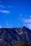 Kitt Peak National Astronomical Observatory in morning light, near Sells, Arizona.©1989 Edward McCain. All rights reserved. McCain Photography, McCain Creative, Inc.