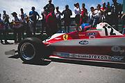 June 7-11, 2018: Canadian Grand Prix. Jacques Villeneuve drives his father Gilles Villeneuve's 1978 312T F1 car