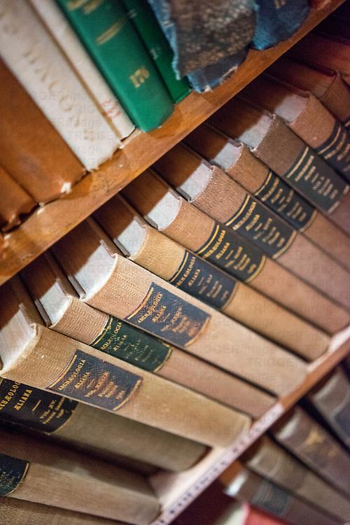 inside Barter Books store in Alnick, Northumberland, England