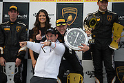 October 1-3, 2014 : Lamborghini Super Trofeo at Road Atlanta. Podium ceremony