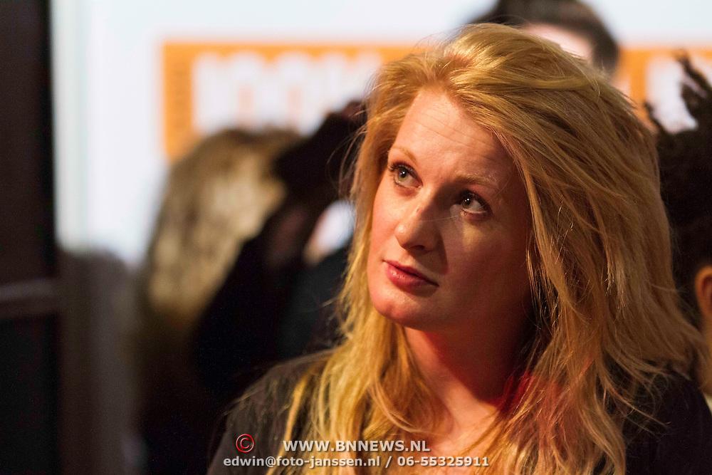 NLD/Amsterdam/20140205 - Uitreiking 100% NL Awards 2013, Miss Montreal