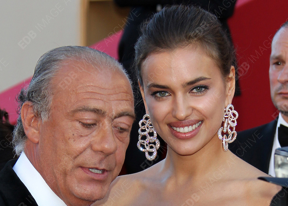 22.MAY.2012. CANNES<br /> <br /> IRINA SHAYK AND FAWAZ GRUOSI ATTEND THE 'KILLING THEM SOFTLY' PREMIERE DURING 65TH ANNUAL CANNES FILM FESTIVAL AT PALAIS DES FESTIVALS ON MAY 22, 2012 IN CANNES, FRANCE.  <br /> <br /> BYLINE: EDBIMAGEARCHIVE.CO.UK<br /> <br /> *THIS IMAGE IS STRICTLY FOR UK NEWSPAPERS AND MAGAZINES ONLY*<br /> *FOR WORLD WIDE SALES AND WEB USE PLEASE CONTACT EDBIMAGEARCHIVE - 0208 954 5968*