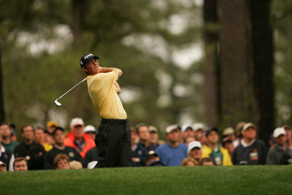 Jonathan Kaye..2005 Masters Tournament.First Round.Augusta National GC.Augusta GA.Thursday, April 7 2005..photograph by Darren Carroll..04-07-05...