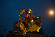 Repro Free: Chariot of the Sea by Trans Express from France delighted thousands despite the rain in Galway during the 40th Galway International Arts Festival which runs till the end of the Month. Photo:Andrew Downes, xposure .