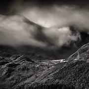 Cruachan Dam, Ben Cruachan, Loch Awe.