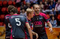 02-10-2016 NED: Supercup Abiant Lycurgus - Coniche Topvolleybal Zwolle, Doetinchem<br /> Lycurgus wint de Supercup door Zwolle met 3-0 te verslaan / Thijs van Noorden #7 of Con&iacute;che Zwolle