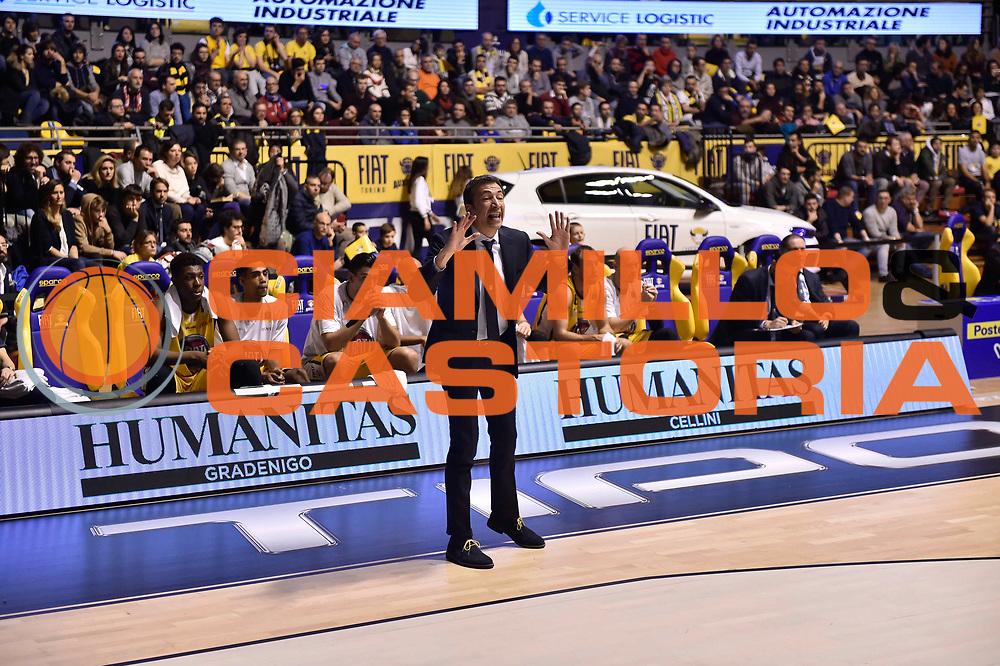 Banchi Luca<br /> FIAT Torino - EA7 Emporio Armani Milano<br /> Lega Basket Serie A 2017-2018<br /> Torino 10/12/2017<br /> Foto M.Matta/Ciamillo & Castoria
