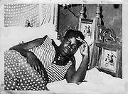 The Nubian bed or samadari.  (1970s)