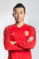**EXCLUSIVE**Portrait of Chinese soccer player Du Wenyang of Hebei China Fortune F.C. for the 2018 Chinese Football Association Super League, in Marbella, Spain, 26 January 2018.