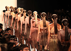 Herve Leger show - New York A/W 12