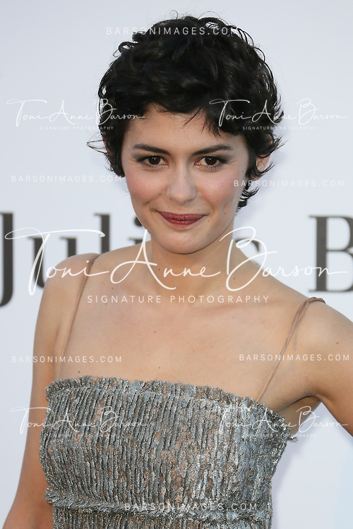 CAP D'ANTIBES, FRANCE - MAY 23:  Audrey Tautou arrives at amfAR's 20th Annual Cinema Against AIDS at Hotel du Cap-Eden-Roc on May 23, 2013 in Cap d'Antibes, France.  (Photo by Tony Barson/FilmMagic,)
