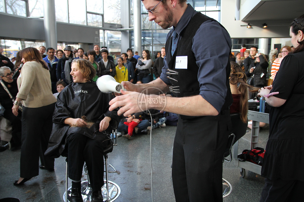 "Seattle Opera hosts the ""Barber of Seattle"" hairstyle and makeover competition at McCaw Hall on January 8, 2011."