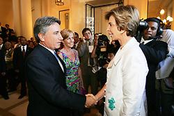 A governadora do Rio Grande do Sul, Yeda Crusius durante a cerimônia de sua posse. Itamar Aguiar/Preview.com