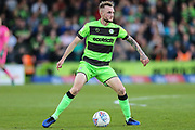 Forest Green Rovers Carl Winchester(7) during the EFL Sky Bet League 2 second leg Play Off match between Forest Green Rovers and Tranmere Rovers at the New Lawn, Forest Green, United Kingdom on 13 May 2019.