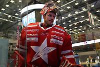GET-ligaen Ice Hockey, 27. october 2016 ,  Stavanger Oilers v Stjernen<br />Tommy Johansen fra Stjernen etter kampen mot Stavanger Oilers<br />Foto: Andrew Halseid Budd , Digitalsport