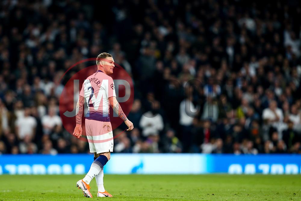 Kieran Trippier of Tottenham Hotspur - Mandatory by-line: Robbie Stephenson/JMP - 30/04/2019 - FOOTBALL - Tottenham Hotspur Stadium - London, England - Tottenham Hotspur v Ajax - UEFA Champions League Semi-Final 1st Leg