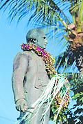 Captain Cook Statue, Waimea, Kauai, Hawaii
