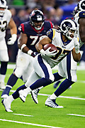 HOUSTON, TX - AUGUST 29:  Matt Colburn #37 of the Los Angeles Rams runs the ball during a game against the Houston Texans during week four of the preseason at NRG Stadium on August 29, 2019 in Houston, Texas. The Rams defeated the Texans 22-10.   (Photo by Wesley Hitt/Getty Images) *** Local Caption *** Matt Colburn