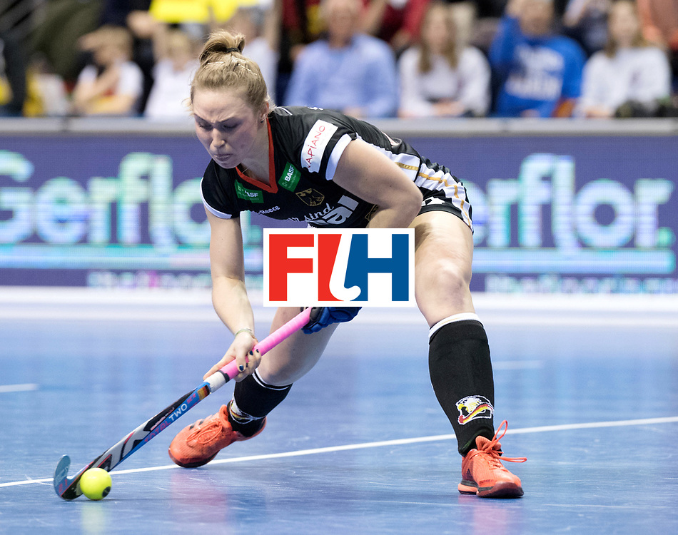 BERLIN - Indoor Hockey World Cup<br /> Quarterfinal 3: Germany - Poland<br /> foto: Nike Lorenz.<br /> WORLDSPORTPICS COPYRIGHT FRANK UIJLENBROEK