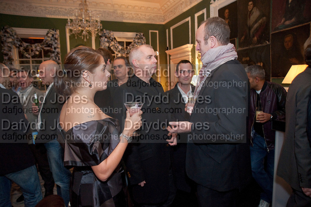 TRACEY EMIN; NEIL TENNANT; JOHNNY SHAND-KYDD, QUINTESSENTIALLY HOST THE  AFTER-PARTY OF ÔNOWHERE BOYÕÕ  at The House of St Barnabas in Soho Sq. London. 26 November 2009. The premiere and party were held in support of MaggieÕs cancer care charity.<br /> TRACEY EMIN; NEIL TENNANT; JOHNNY SHAND-KYDD, QUINTESSENTIALLY HOST THE  AFTER-PARTY OF 'NOWHERE BOY''  at The House of St Barnabas in Soho Sq. London. 26 November 2009. The premiere and party were held in support of Maggie's cancer care charity.