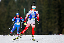 Kinga Zbylut (POL) during Women 15km Individual at day 5 of IBU Biathlon World Cup 2018/19 Pokljuka, on December 6, 2018 in Rudno polje, Pokljuka, Pokljuka, Slovenia. Photo by Ziga Zupan / Sportida