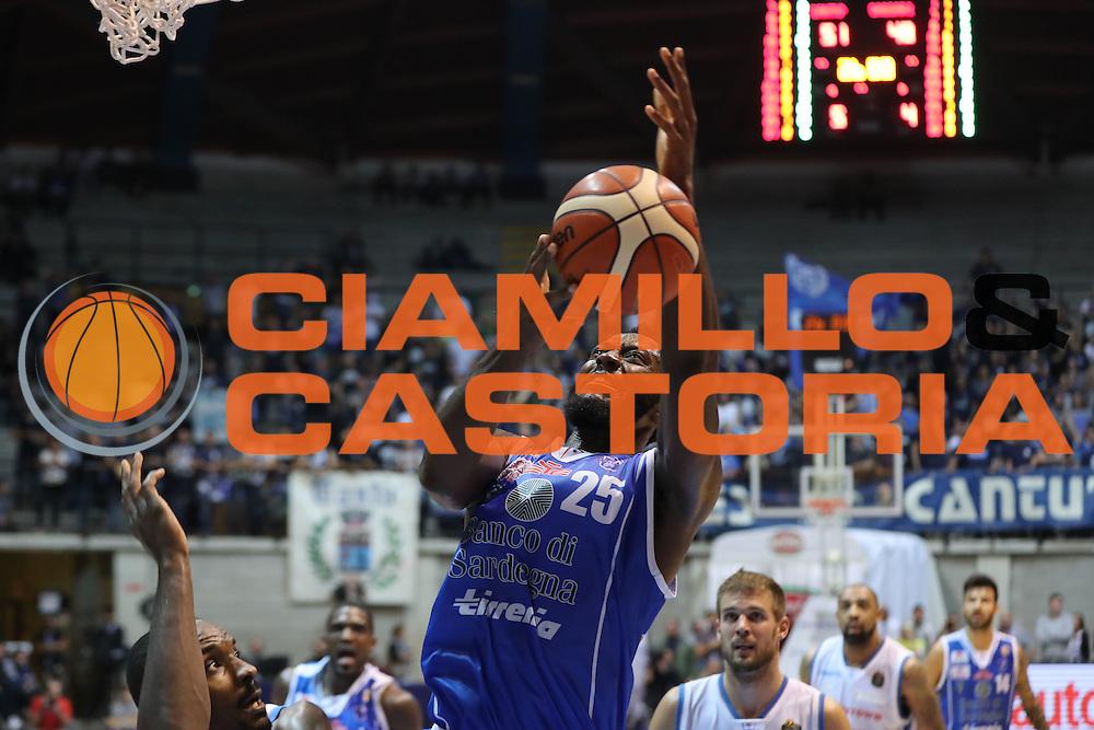 Gabriel Olaseni<br /> Red October Cantu' Banco di Sardegna Sassari<br /> Basket serie A 2016/2017<br /> Milano 23/10/2016<br /> Foto Ciamillo-Castoria<br /> Provvisorio