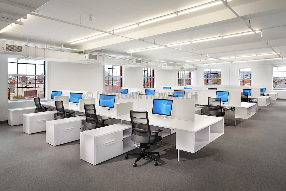 Millennial Media 2400 Boston St #201Baltimore, MD furnished with modern MOI office furniture