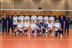 23-05-2017 NED: 2018 FIVB Volleyball World Championship qualification, Koog aan de Zaan<br /> Moldavi&euml; - Griekenland / Team Griekenland