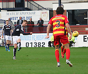 Dundee&rsquo;s Rory Loy fires in a shot - Dundee v Partick Thistle, Ladbrokes Premiership at Dens Park<br /> <br />  - &copy; David Young - www.davidyoungphoto.co.uk - email: davidyoungphoto@gmail.com