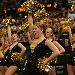 21 December 2008:  Southern Miss cheerleader performs during a 30-27 overtime victory by the Southern Mississippi Golden Eagles over the Troy Trojans in the  R+L Carriers New Orleans Bowl at the New Orleans Superdome in New Orleans, LA.