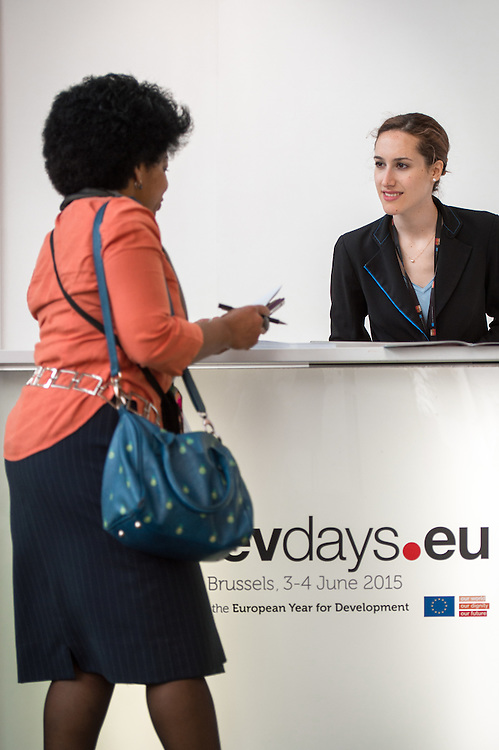 03 June 2015 - Belgium - Brussels - European Development Days - EDD - Illustration © European Union