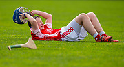 22/10/2016,  Cumann na mBunscol Primary School Finals at Trim.<br /> Game 5_Division 1 Hurling Final: St Dympna`s (Kildalkey) vs St Michaels (Trim)<br /> Trim captain Eoghan Ryan dejected after the final whistle<br /> Photo: David Mullen /www.cyberimages.net / 2016<br /> ISO: 500; Shutter: 1/1250; Aperture: 4<br /> File Size: 2.5MB<br /> Print Size: 8.6 x 5.8 inches