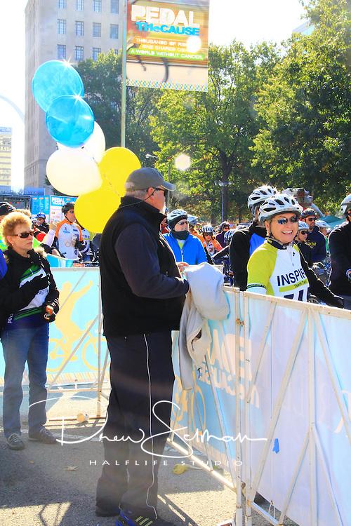 Pedal the Cause 2012.Village.St. Louis, MO.07-OCT-2012..Credit: Lisa Szymanski / Halflife Studio