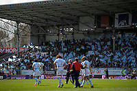 Joie supporters Racing Metro   - 05.04.2015 - Racing Metro 92 / Sarances - 1/4Finale European Champions Cup<br />