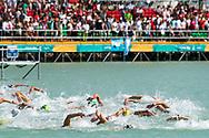 Panoramic View <br /> Women's 10Km <br /> Open Water Swimming Balatonfured<br /> Day 03  16/07/2017 <br /> XVII FINA World Championships Aquatics<br /> Lake Balaton Budapest Hungary  <br /> Photo Andrea Staccioli/Deepbluemedia/Insidefoto