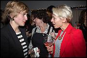 CHRISTINE KREISEIMOIER; HELEN CROYDON, Opening of the Trouble Club., Lexington St. Soho London. 6 November 2014