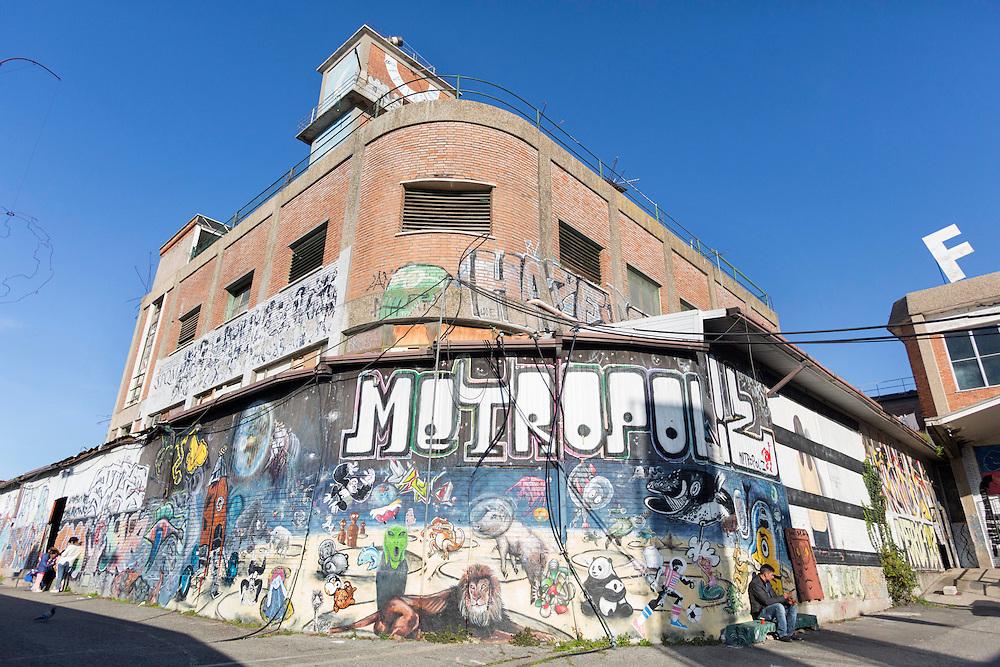 ingresso MAAM Museo dell'altre e dell'altrove citt&agrave; meticcia di Metropoliz<br /> <br /> entry MAAM Museum dell'altre and elsewhere mestizo city of Metropoliz