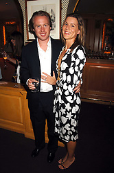 JOE BAMFORD and ALEX GORE BROWNE at a dinner hosted by fashion label Issa at Annabel's, Berekely Square, London on 24th April 2007.<br />