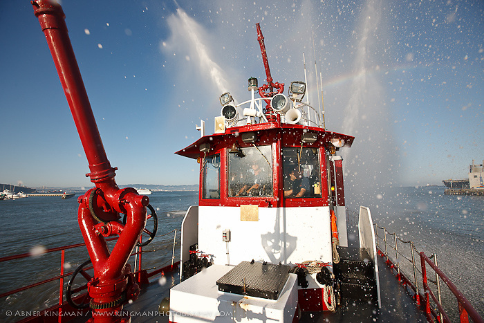 Jeff Amdahl, Captain, San Francisco Fireboat PHOENIX