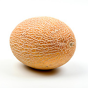 Fresh and organic Melon on white background