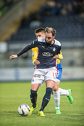 Falkirk's Mark Kerr. <br /> Falkirk 1 v 0 Cowdenbeath, Scottish Championship game played 31/3/2015 at The Falkirk Stadium.