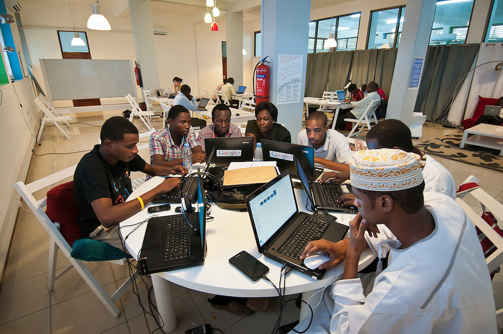 Dar es Salaam's TanzICT's Innovation Space at COSTECH (Commission for Science and Technology), part of a bilateral Tanzania-Finland development project designed to kick-start Tanzania's technology ecosystem, and move Tanzania towards an information technology society, opened in late 2011.