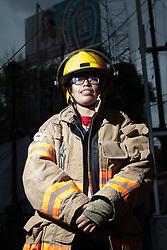 Barbara Chavez, corpo dei pompieri di Città del Messico.