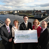 The Mid -West Society of Chartered Accountants presents donations from its members to the Limerick based childrenÕs charity ÔBlue BoxÕ, an Arts Therapy Centre which uses creative therapies to provide assistance to vulnerable children and young people.  The Mid-West Society actively supports members, businesses  and community activities in the region.  Pictured are Peter Keogh of Blue Box (centre) with Society members (RtoL) Rory OÕNeill (Chairman), Mary Halton, Cathy McDermott and Michael Duffy<br /> Picture Credit: Brian Gavin Press 22<br /> The Mid -West Society of Chartered Accountants presents donations from its members to the Limerick based children's charity 'Blue Box', an Arts Therapy Centre which uses creative therapies to provide assistance to vulnerable children and young people.  The Mid-West Society actively supports members, businesses  and community activities in the region.  Pictured are Peter Keogh of Blue Box (centre) with Society members (RtoL) Rory O'Neill (Chairman), Mary Halton, Cathy McDermott and Michael Duffy<br /> Picture Credit: Brian Gavin Press 22