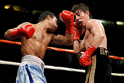 January 27, 2007; Anaheim, CA; USA; Jorge Arce defeats Julio Ler via 12 round unanimous decision at the Honda Center in Anaheim, CA.